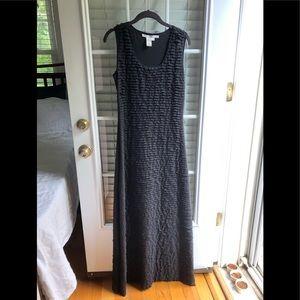 Floor length semi formal black dress